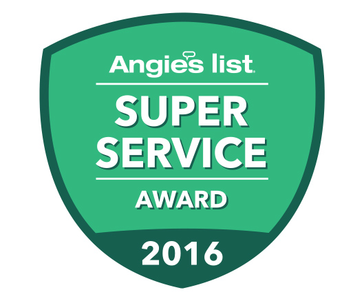 Link Professionals Angie's List Super Service Award
